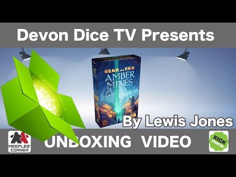 Unboxing Near and Far: Amber Mines By Devon Dice - Lewis Jones