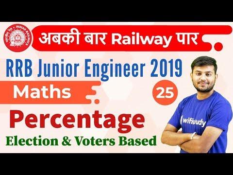 12:30 PM - RRB JE 2019 | Maths by Sahil Sir | Percentage {Election & Voters Based} mp3 yukle - mp3.DINAMIK.az