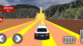 Police Limo Car Stunts Level - 11 | कार स्टंट वाला गेम  | कार गेम फ्री डाउनलोड