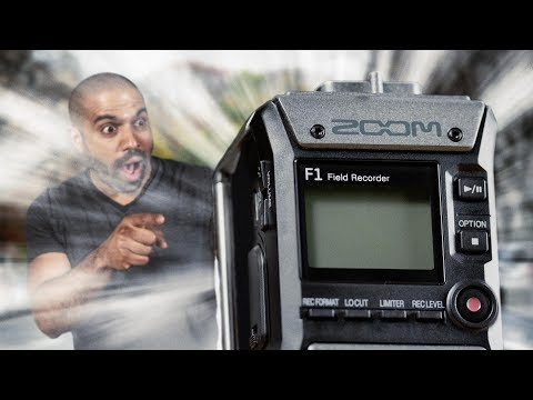 Zoom F1-LP (handheld, DSLR audio recorder, video audio recorder)