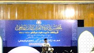 preview picture of video 'Tilawah Berzanji Daerah Kota Tinggi 2013'