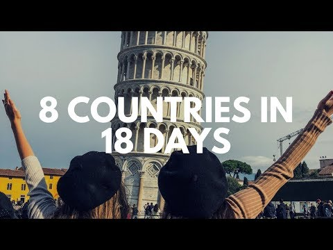 BACKPACKING THROUGH EUROPE IN 18 DAYS