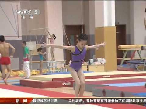 CCTV News 体操女队培养新人