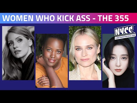 Entertainment Weekly's Women Who Kick Ass | The Stars of Universal Pictures' New Spy Thriller, The 355