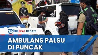 Fakta Ambulans Palsu di Puncak Bogor, Sulap Mobil Pribadi Demi Lolos Ganjil Genap hingga Lawan Arah