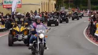 preview picture of video '14. Motorrad Sternfahrt Kulmbach 2014'