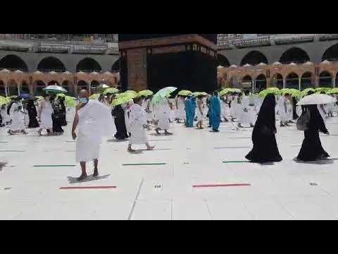 خطيب المسجد الحرام يودع آخر جمعة من رمضان بدموع الفراق