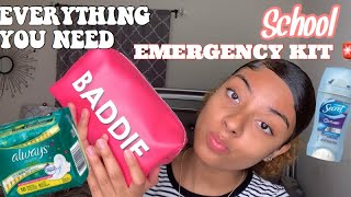 Everything You NEED In Your School Emergency Kit