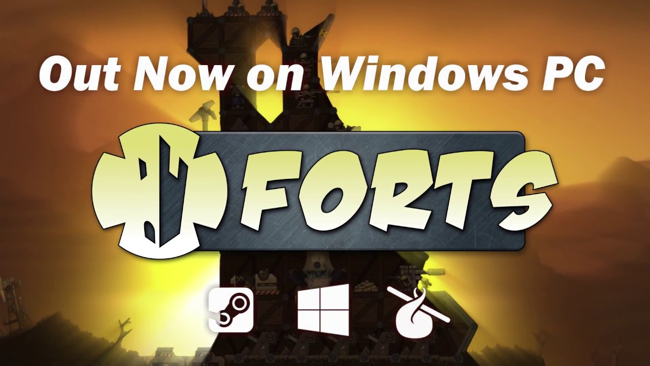 Forts Is A Fun Mix Of RTS And Worms
