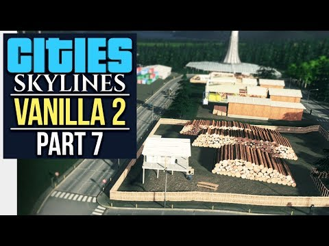 RANTING ABOUT TOURISTS // Cities: Skylines | Vanilla Lets Play 2 - Part 7