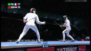 Watch Julianna's World Championship team final in 2005 in Leipzig, Germany