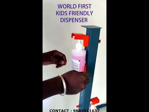 Sanitizer Dispensing Stand