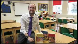 Book Week - Mr Dunn's book recommendation