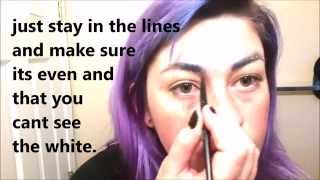 how i do colorful eyebrows