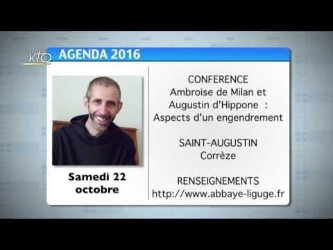 Agenda du 10 octobre 2016