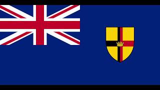 The Anthem of the British Crown Colony of Sarawak