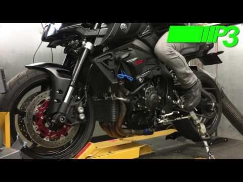 Yamaha MT10 vs Woolich racing tuned MT10 - смотреть онлайн