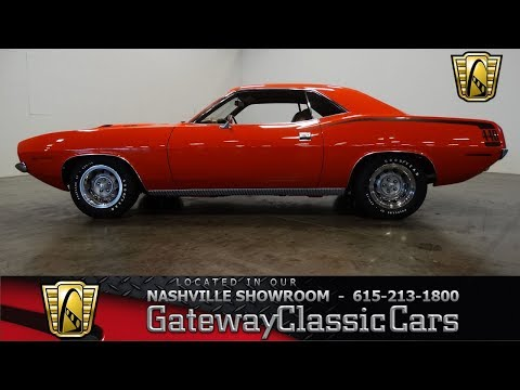 1970 Plymouth Cuda for Sale - CC-1046725