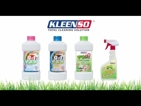 Kleenso 9 in 1 Anti-bacterial Tea Tree Oil Floor Cleaner 900 ml (Pink) 6 Bottles
