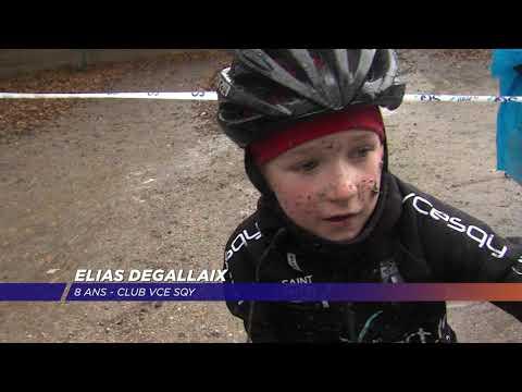 Yvelines | De la boue et du cyclo-cross sur l'Île de loisirs de SQY