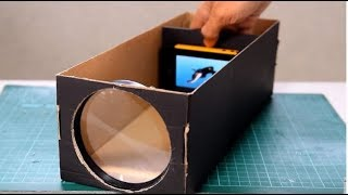 How to Making a HD Projector at home in 5 minute | Digital Projector | Tech Toyz Videos