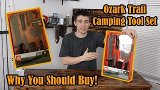 Best Camping Tool Kit You Can Buy!! (WALMART?!)