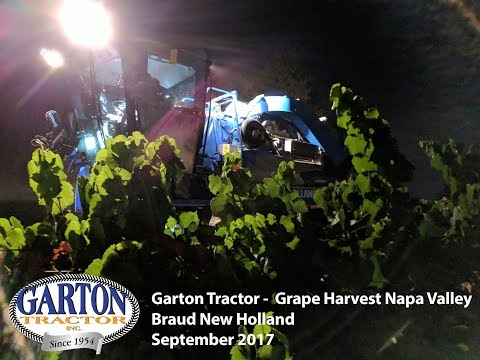 2017 Braud New Holland Grape Harvester