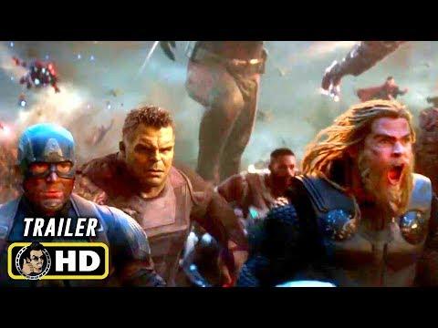 698d34e873626 AVENGERS  ENDGAME (2019) Final Battle - 10 TV Spot Trailers  HD
