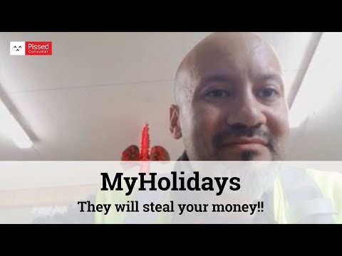 MyHolidays - They will steal your money!!