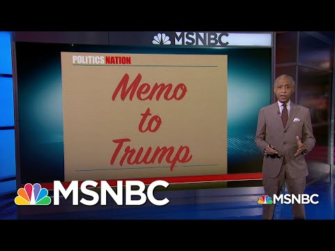 Memo to Trump: 'You've Been So Desperate To Sabotage The Constitutionally Mandated Census' | MSNBC