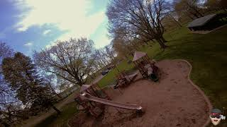 FPV Park flying on a beautiful day