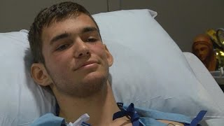 High School Student Gets Shot Twice, Run Over By Car While Helping Dying Woman