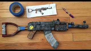 Making A REAL LIFE Rust AK47 ASSAULT RIFLE  Part 1