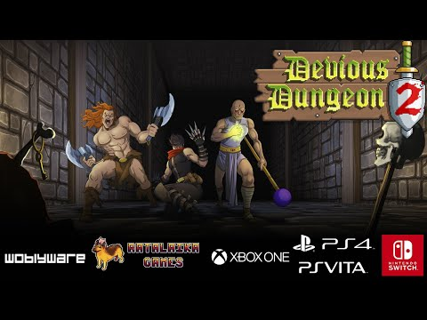 Devious Dungeon 2 - Launch Trailer thumbnail