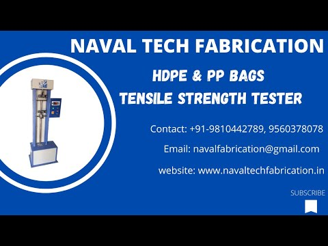 NTF Fabric Tensile Strength Tester