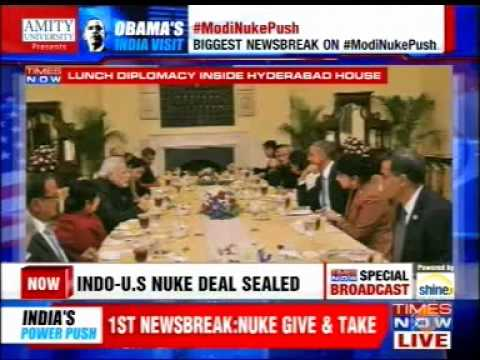 Sanjay Puri (USINPAC Chairman) on Obama India Visit - Times Now
