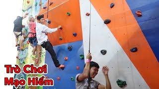 LamTV - Thử Thách Chơi Các Trò Chơi Mạo Hiểm Tại Công Viên Bạt Nhún | Jump Arena Trampoline