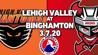 Phantoms vs. Devils | Mar. 7, 2020