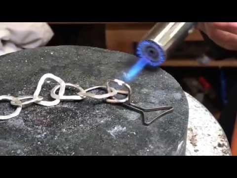 Goldschmiede Peter Erker Kempten: Silberkette mit Hammerschlag selber gemacht (How to)