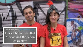 Assassin's Creed Odyssey Actors Answer Your BURNING QUESTIONS In Character