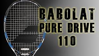 Ρακέτα τέννις Babolat Pure Drive 110 video