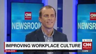CNN Philippines Interview with Bryce Maddock: Improving Workplace Culture