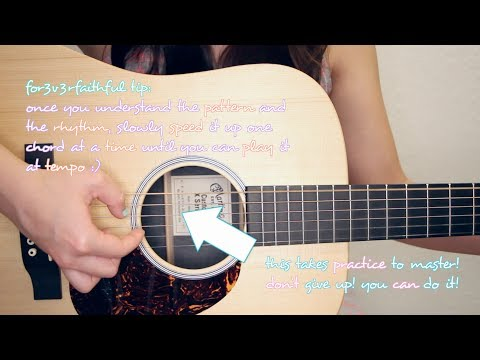 Guitar Chords With Strumming Patterns All Of Me John Legend