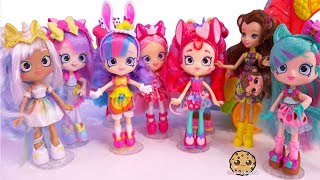 Limited Edition Mystabella Unicorn  + Wild Style Animal Shopkins Shoppies Party !  Video