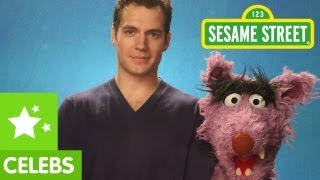 Sesame Street: Henry Cavill&Elmo teach Respect to the Big Bad Wolf