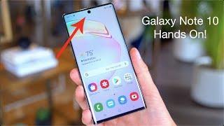 Samsung Galaxy Note10 Hands On!