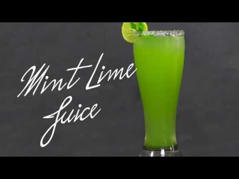 Video Mint Lime Juice | Healthy Drink