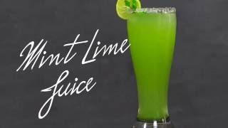 Mint Lime Juice