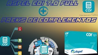 Descargar Einstalar Aspel COI 7.0 Full + Packs De Complementos 2017