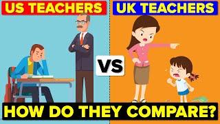 US Teachers vs UK Teachers - How Do They Compare? Hours & Salary Comparison